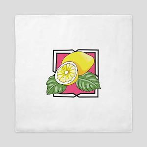 Lemons Queen Duvet