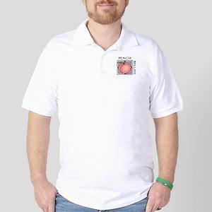 Peach Bellini Golf Shirt