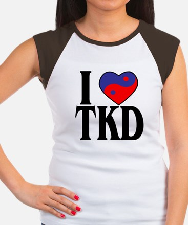 I heart TKD 4x4 T-Shirt