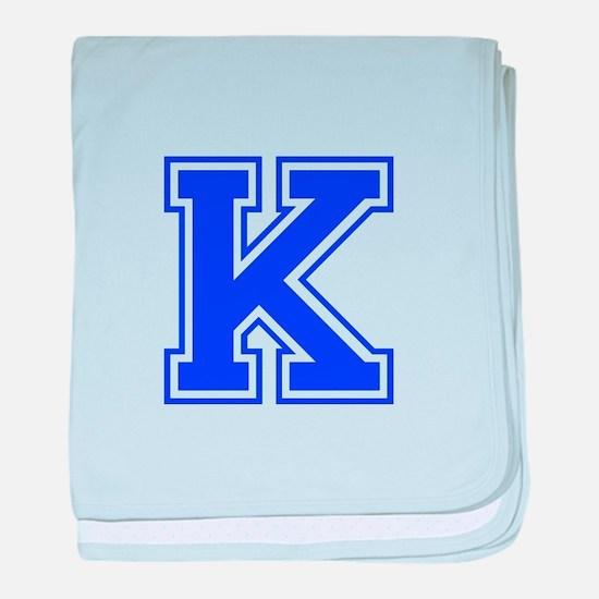K-Var blue baby blanket