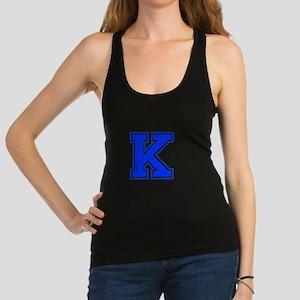 K-Var blue Racerback Tank Top