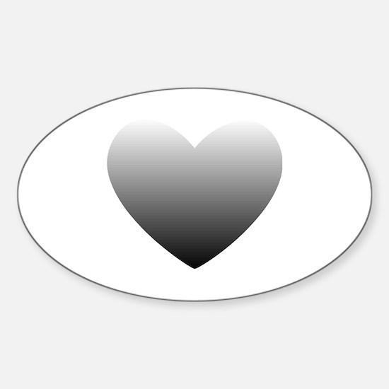50 Shades of Grey Sticker (Oval)