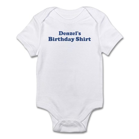 Denzel birthday shirt Infant Bodysuit
