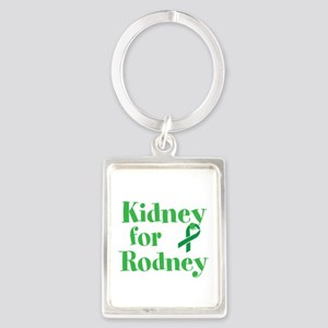 Personalize,Kidney for ___. Portrait Keychain