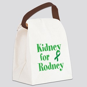 Personalize,Kidney for ___. Canvas Lunch Bag