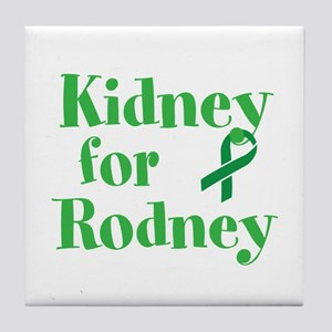 Personalize,Kidney for ___. Tile Coaster