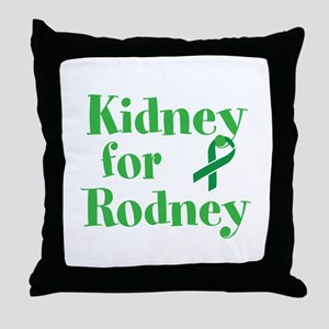 Personalize,Kidney for ___. Throw Pillow
