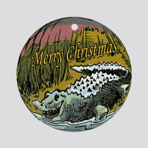 Alligator Sauce Ornament (Round)