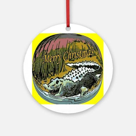 Alligator Sauce Ornament (Round)