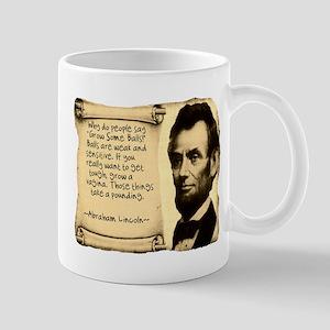 Fake Lincoln Quote Mug