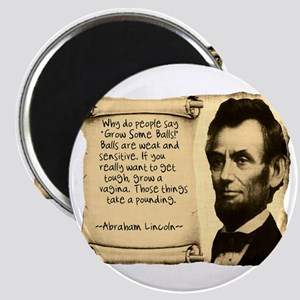 Fake Lincoln Quote Magnet