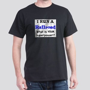 i run a railroad Dark T-Shirt