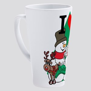 Smelling Deer Fart 17 oz Latte Mug