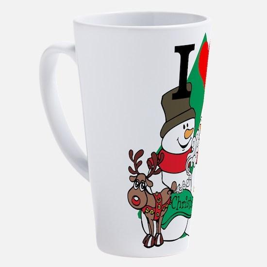 Smelling Deer Fart 17 oz Latte Mug