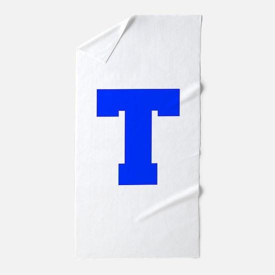 T-Fre blue Beach Towel