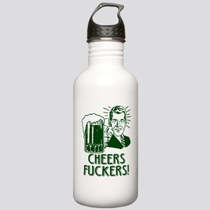 Irish - Cheers Fuckers Stainless Water Bottle 1.0L