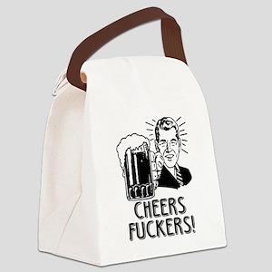 Irish - Cheers Fuckers Canvas Lunch Bag