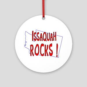 Issaquah Rocks ! Ornament (Round)