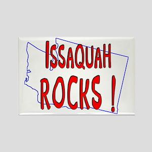 Issaquah Rocks ! Rectangle Magnet