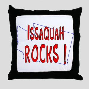 Issaquah Rocks ! Throw Pillow