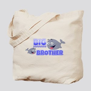 Big Brother Whales Tote Bag