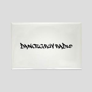 Dancegruv Radio Rectangle Magnets