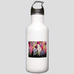 Hyacinths color staine Stainless Water Bottle 1.0L