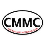 CMMC Oval Sticker