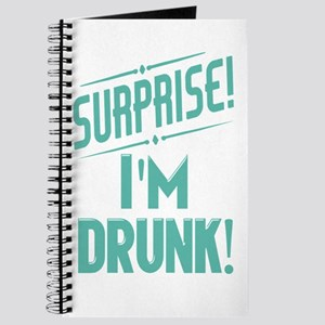 Surprise I'm Drunk Journal