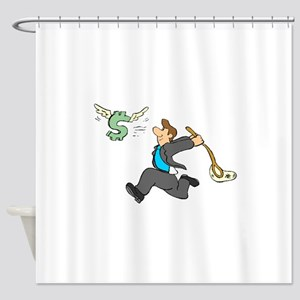 Netting A Profit Shower Curtain