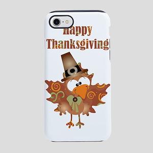 Happy Thanksgiving Turkey iPhone 7 Tough Case