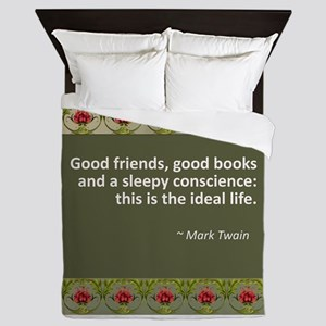 good books Queen Duvet