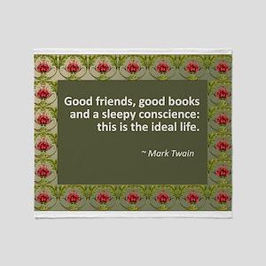 good books Throw Blanket