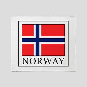 Norway Throw Blanket