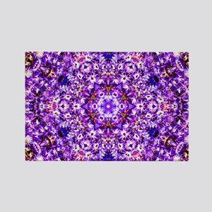 Purple Patterrn Magnets