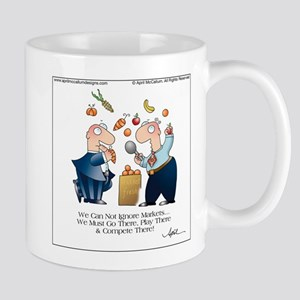 MARKET PLAY by April McCallum Large Mugs