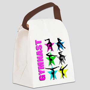 GYMNAST CHICK Canvas Lunch Bag