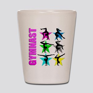 GYMNAST CHICK Shot Glass