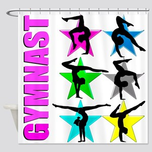GYMNAST CHICK Shower Curtain