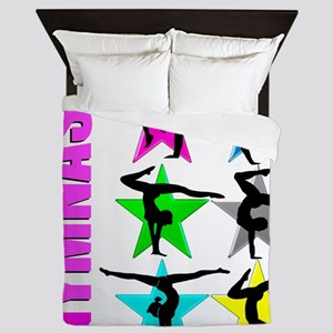 GYMNAST CHICK Queen Duvet