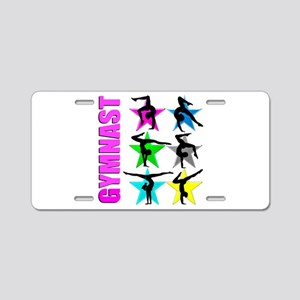 GYMNAST CHICK Aluminum License Plate