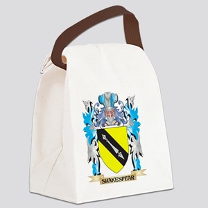 Shakespear Coat of Arms - Family Canvas Lunch Bag