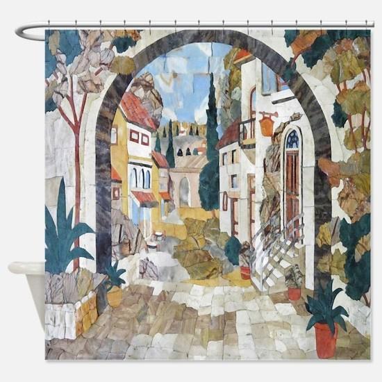 Italian Street Shower Curtain