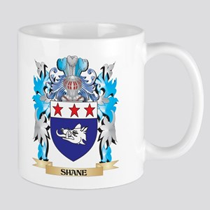 Shane Coat of Arms - Family Crest Mugs