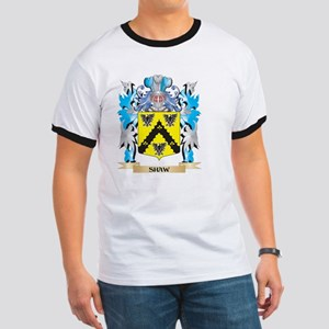 Shaw- Coat of Arms - Family Crest Ringer T