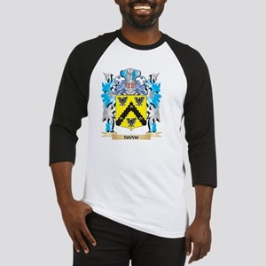 Shaw- Coat of Arms - Family Crest Baseball Jersey
