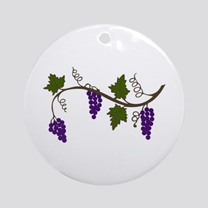 GRAPEVINE Ornament (Round)