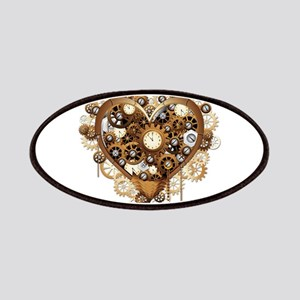 Steampunk Heart Love Patch