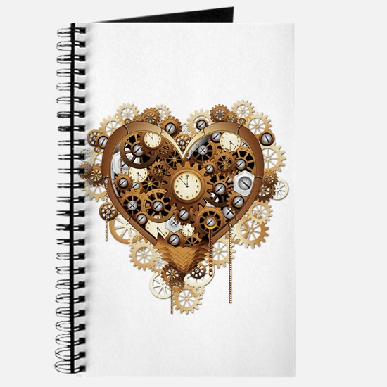 Steampunk Heart Love Journal