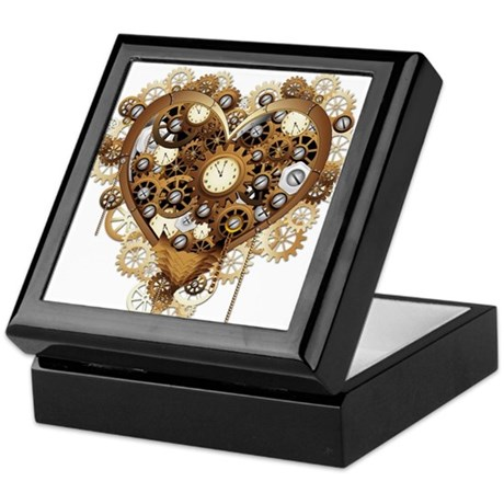 Steampunk Jewelry Boxes CafePress